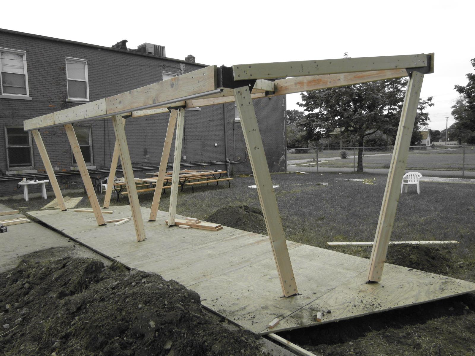 10_Hostel Detroit_Structural Frame